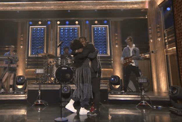 """Last night, she and Travis Scott went on The Tonight Show With Jimmy Fallon to perform """"Love Galore"""" and literally made me believe in ~true art~."""