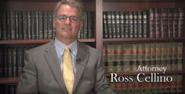 ...is seeking a restraining order against fellow injury attorney Ross Cellino.