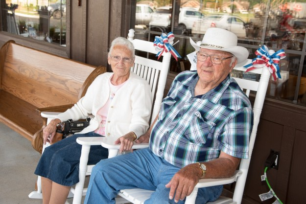 The Goshen, Indiana-based couple started their Cracker Barrel quest 40 years ago when Ray took to visiting the old country stores while working for Coachman delivering recreational vehicles across the country, the Lebanon Democrat said.