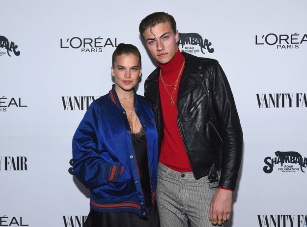 Hello people! I've got exciting celebrity BABY NAME news, so you KNOW shit is about to get weird!!! This is Stormi Bree Henley and Lucky Blue Smith.
