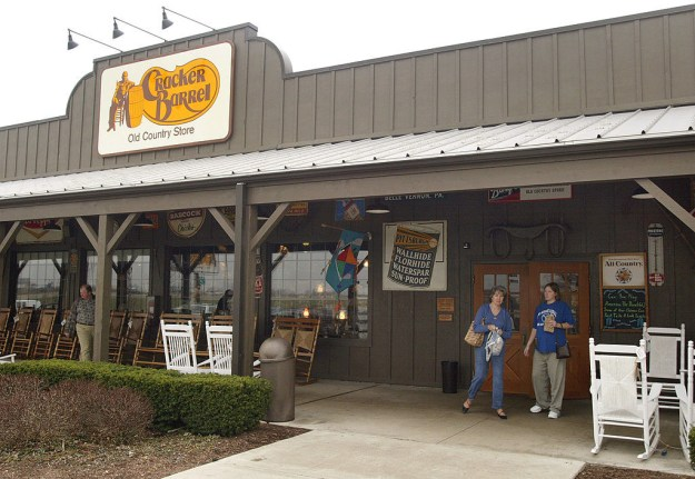 """""""How big of fans, Terri?"""" you're probably saying. Well, I will tell you! The Yoders have been to 644 out of 645 total Cracker Barrel locations in the US. That's a lot of biscuits and sawmill gravy!"""