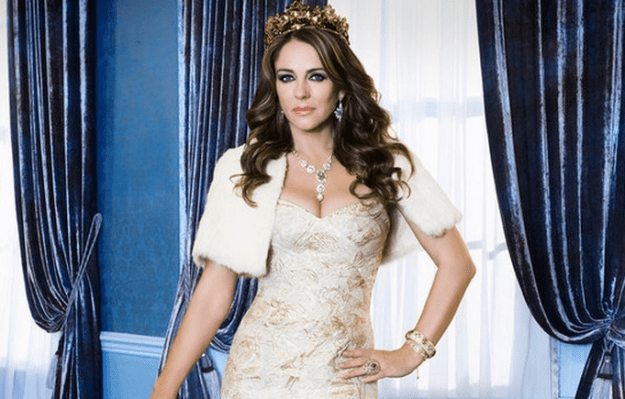 Not just of the KWEEN variety, she literally plays Queen Helena on The Royals.