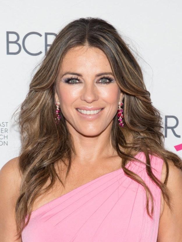 You know Elizabeth Hurley. She's a Queen.