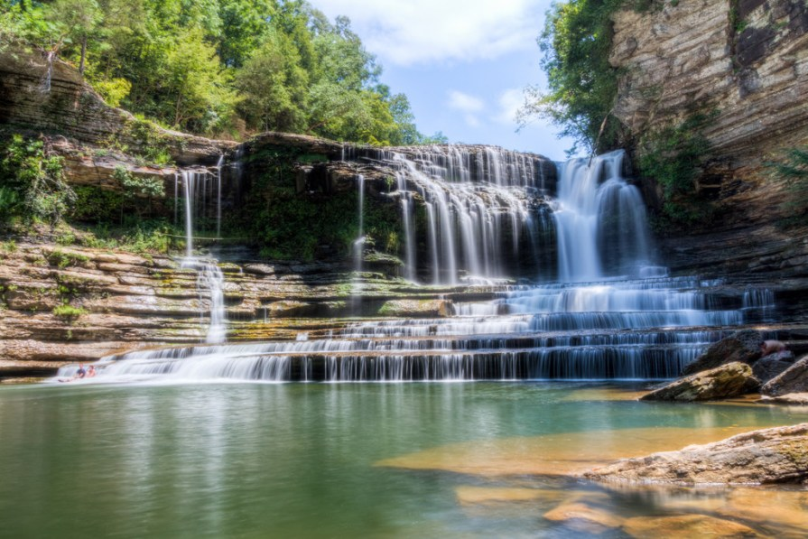 Go chasing waterfalls at Cummins Falls State Park, one of the most picturesque spots in the state. Don't forget your sneakers-- it's a bit of a hike to get to the pool.