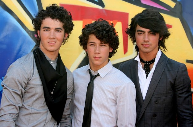 Seriously though, the Jonas Brothers were there — and Nick was only 14 years old.