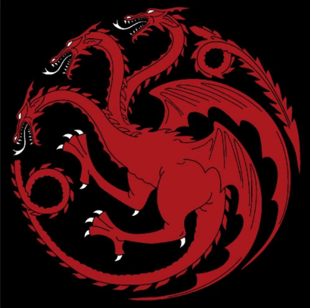 But one important color has been noticeably absent from Dany's wardrobe in past seasons: red, the color of House Targaryen.