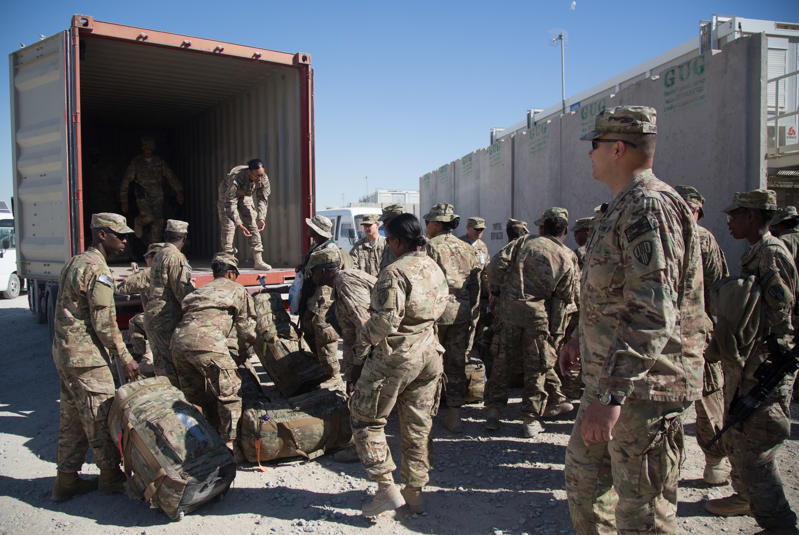 """In December 2014, the US combat mission in Afghanistan officially ended. Force levels dropped down to 30,000 amid a """"drawdown"""" meant to hand over control of security to Afghan forces. When Obama left office, there were still about 8,400 US forces left in the country to continue to train and advise the Afghans."""