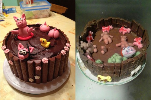 Folks, here's a friendly reminder that cake decorating is hard.