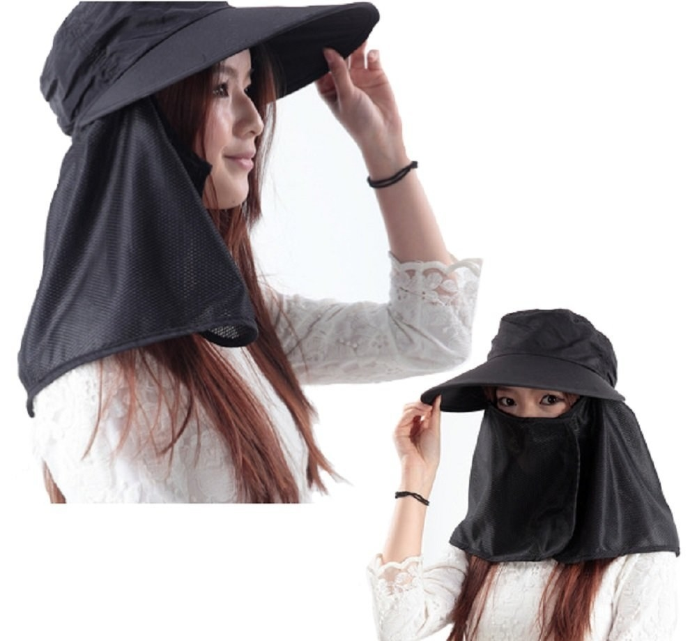 Many Japanese women will go to great lengths to avoid getting a tan, like wearing long black sleeves and hats that cover your face in the middle of summer.