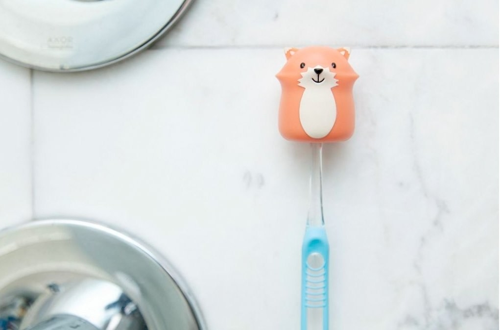Feel like the Snow White of bathrooms.Get it on Amazon for $7.68.