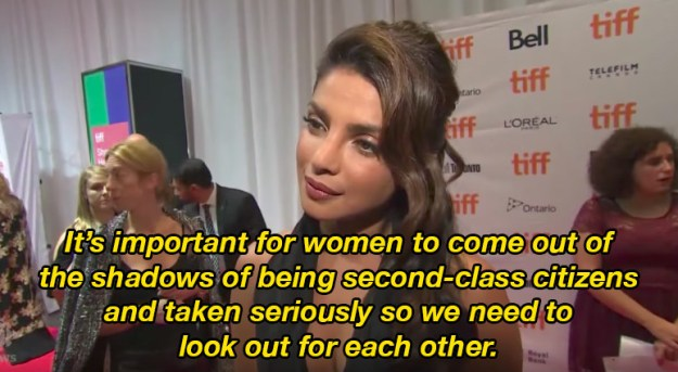 While there, she was asked to talk about the significance of women mentoring women. And here's what she said: