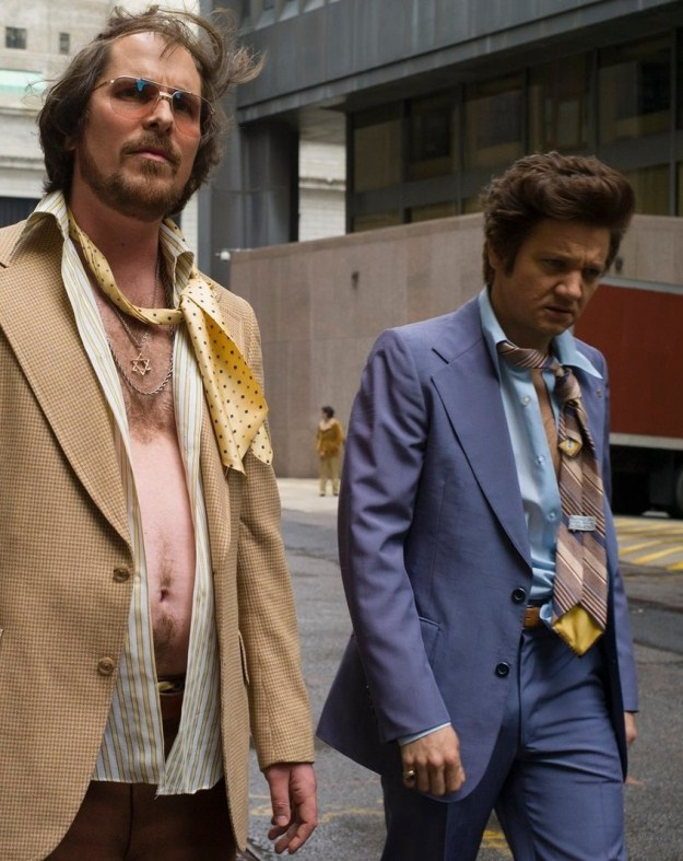 Or a loan-sharking con man in 2013's American Hustle.
