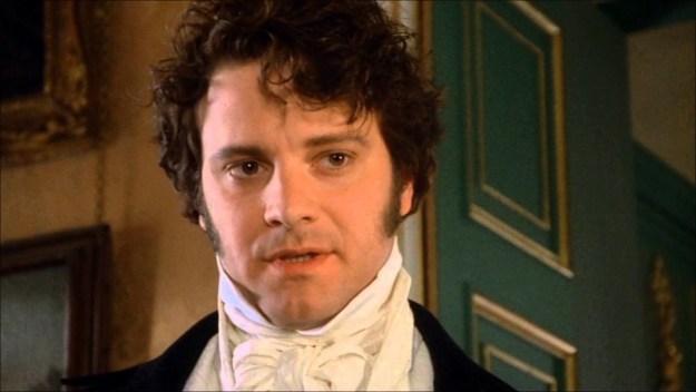 I'm not even talking about '90s Pride and Prejudice BBC mini-series Colin Firth