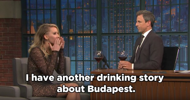 As well as talking about Mother!, Jen and Seth discussed her upcoming movie Red Sparrow, which she filmed in Budapest.