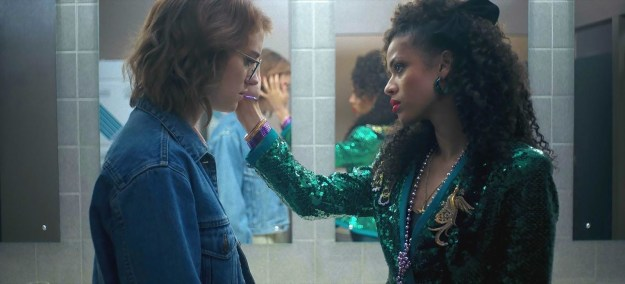 """In case you missed it, Black Mirror's """"San Junipero"""" episode covered a lot of ground. There was queerness. Technology. The 1980s, kind of. And people fucking loved it."""