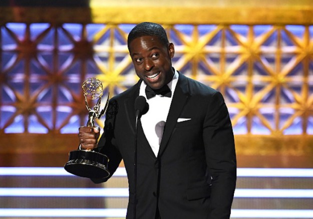 On Sunday night, Sterling K. Brown won a Primetime Emmy for the second year in a row.