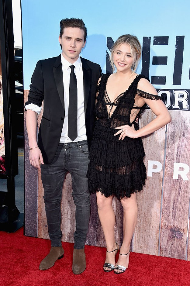 And were cute together on Instagram and red carpets, the LOT.