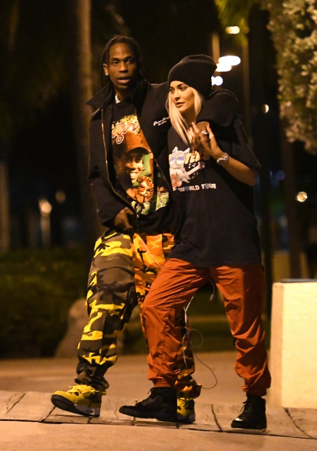 The 20-year-old and rapper Travis Scott have been together since April.