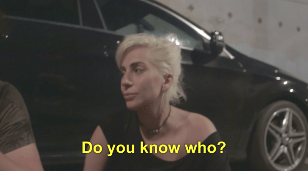 """""""If I'm gonna be sexy on the VMAs and sing about the paparazzi,"""" she says in the scene, """"I'm gonna do it while I'm bleeding to death and reminding you of what fame did to Marilyn Monroe. And what it did to Anna Nicole Smith. And what it did to…yeah. Do you know who?"""""""