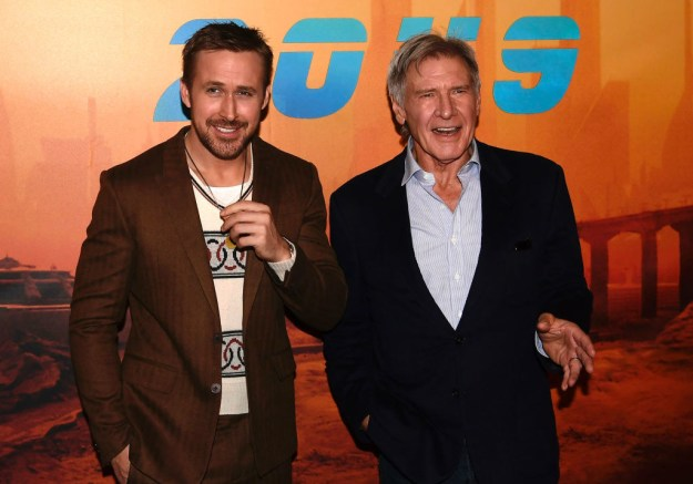 The sequel takes place 30 years after the events of the first film. Harrison Ford reprises his role as Rick Deckard, and Ryan Gosling stars as the new lead, Officer K.