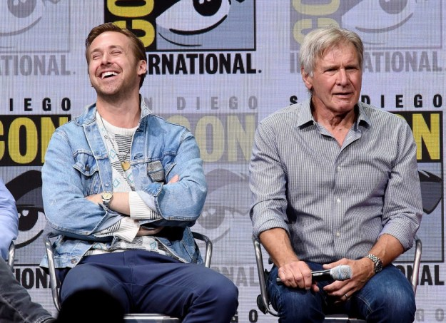 Gosling also revealed that the first Harrison Ford movie he saw growing up was the 1985 thriller Witness. His mom made him watch it just to see Ford's performance.