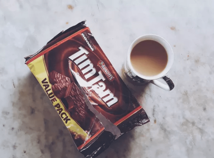 Even better if you do a Tim Tam Slam.