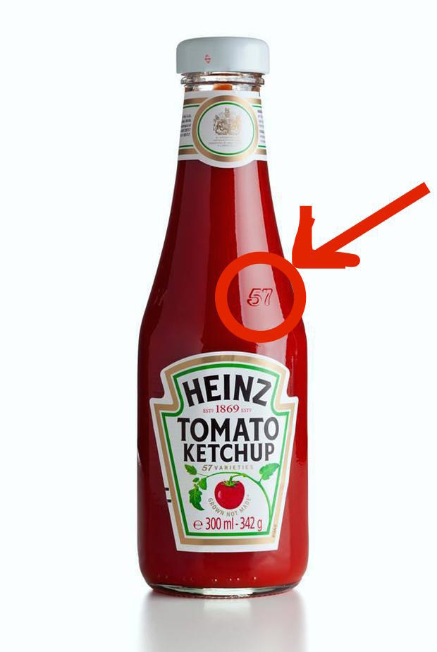 "The simple reason: According to Heinz, this is the ""sweet spot"" on glass Heinz bottles. If you tap with your palm on that spot, then the ketchup should come out more easily. So, stop banging on the bottom of the bottle."