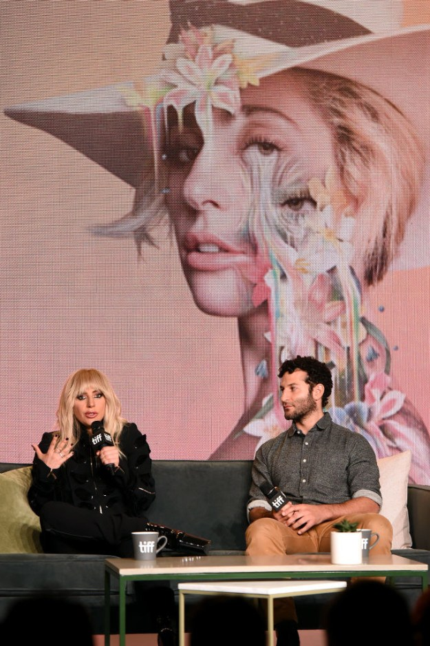 This morning, Gaga joined the documentary's director, Chris Moukarbel, for a press conference on site in Toronto. And they discussed a lot...