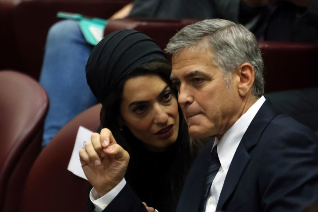 Turns out that the human-rights focused barrister and her humanitarian husband, George Clooney, very quietly provided an Iraqi refugee with a home at an Augusta, Kentucky house they own and maintain.
