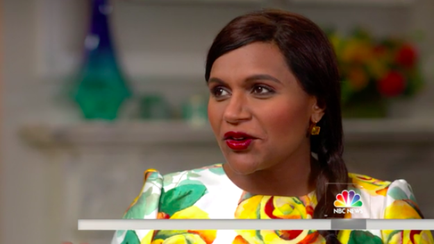 So in case ya didn't hear the good news, Mindy Kaling announced her pregnancy last month!