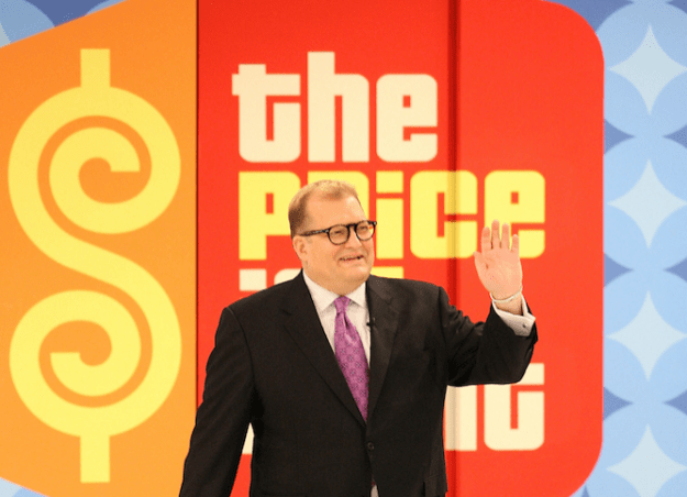 Drew Carey has been hosting The Price Is Right for 10 years.