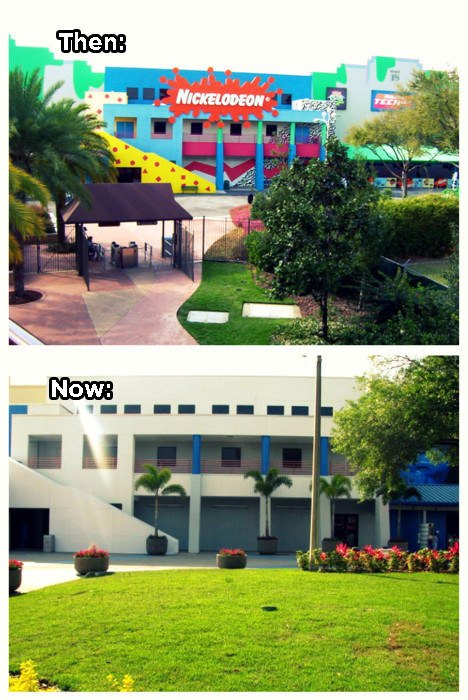 Speaking of which, this is what Nickelodeon Studios looks like today: