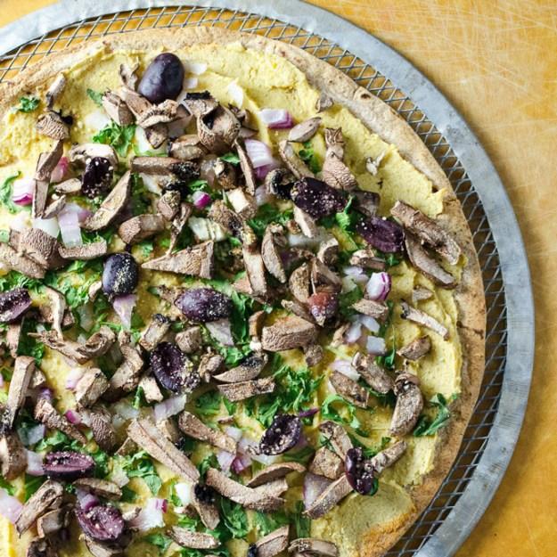 Quick Portobello Pizza