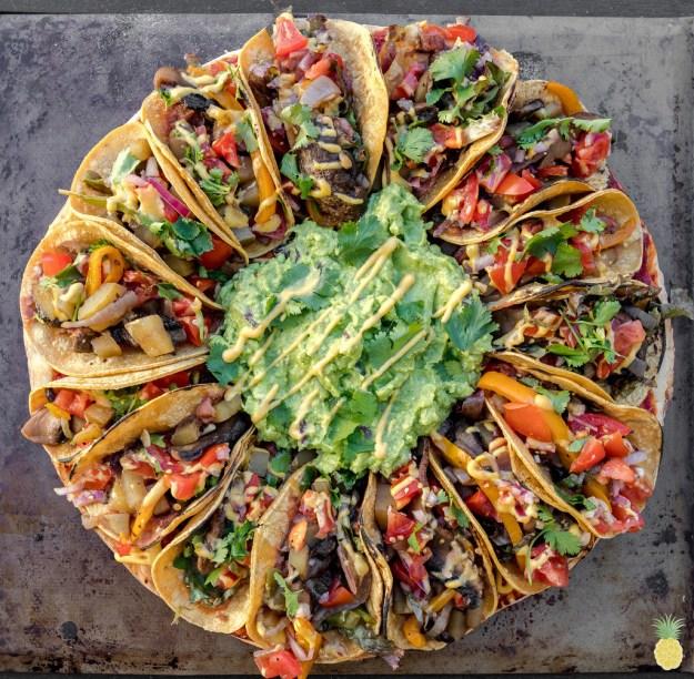 And finally, the Vegan Taco Pizza