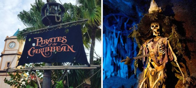 Two people lost fingers on the Pirates of the Caribbean ride in Florida in 2014.