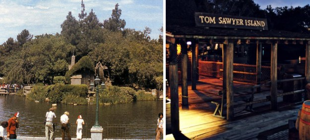 A teen drowned after park hours while trying to swim from Tom Sawyer Island back to the main land.