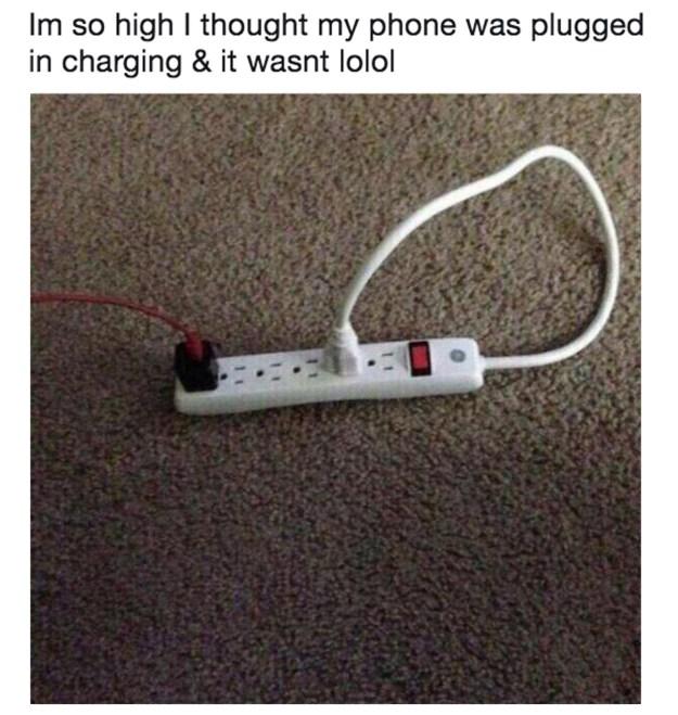 Or your plug: