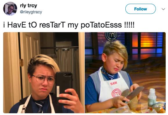 That potato kid: