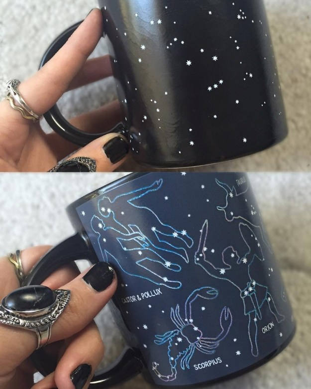 A clever mug that reveals its constellations when filled with hot liquid, for the astro-nut in your life.