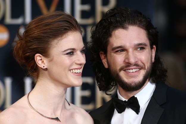 First and foremost, Kit showed us that true love still exists in this dark, dark world every single time he stepped onto the red carpet with Rose Leslie: