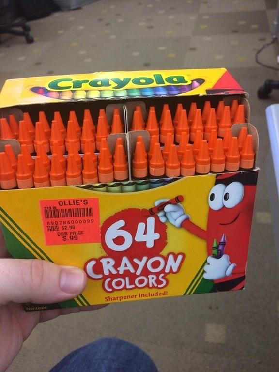This Crayola employee.