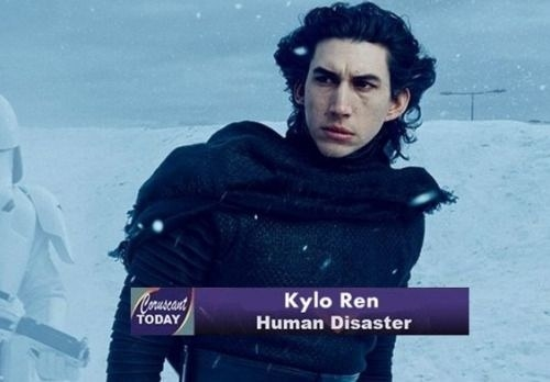 So, we really don't know too much about Kylo Ren, besides his being the son of Han Solo and Leia Organa, and an overall human disaster.