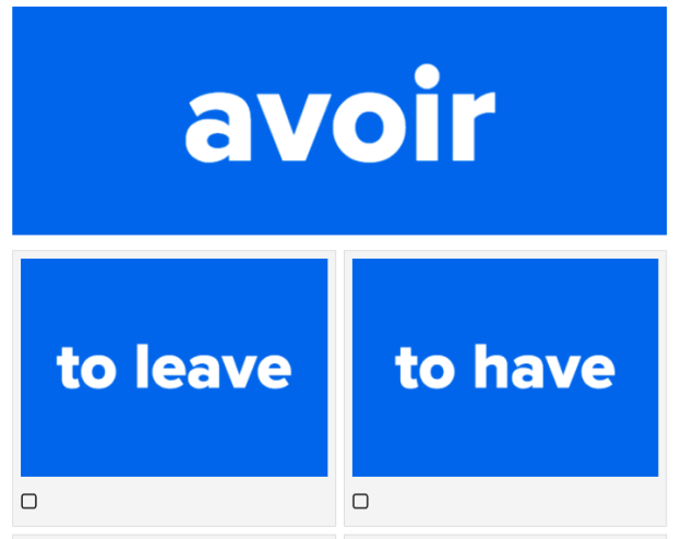 Can you tell what these French verbs mean? Test your skills with this quiz.