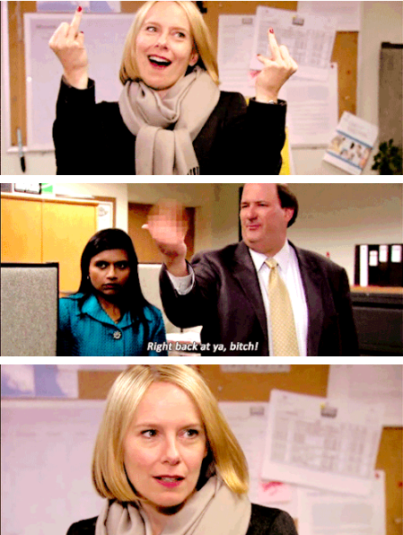 When Kevin lost track of which finger Holly was raising: