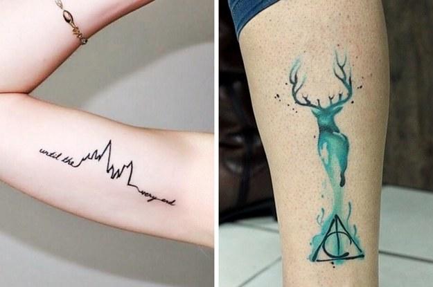 Harry Potter Tattoos Ideas