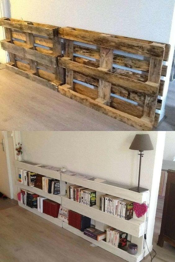 une palette en bois