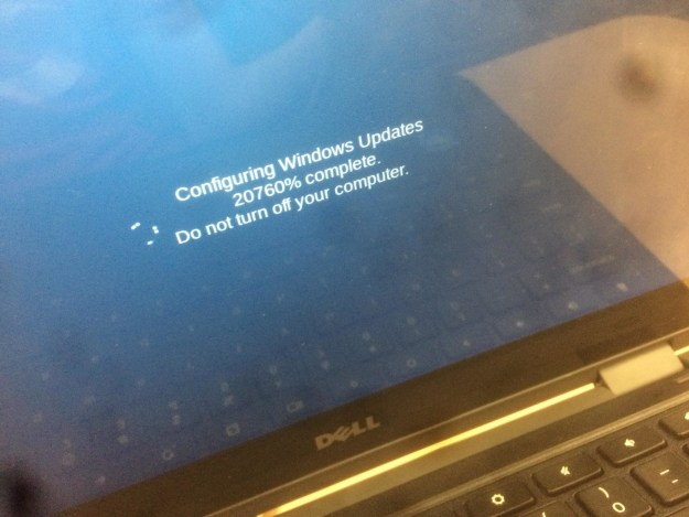 This computer mishap: