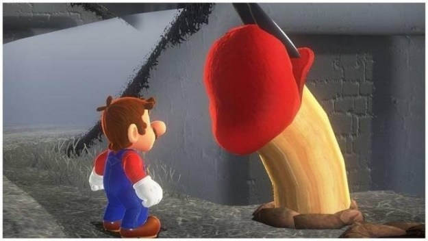 It's rude to look at Mario being naughty: