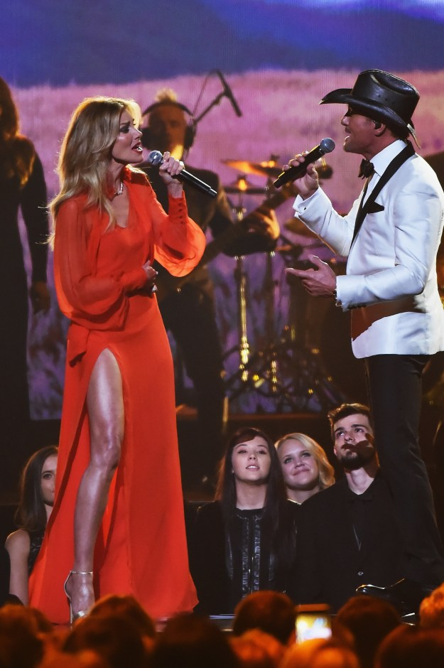 "Anyways, Faith was performing ""The Rest Of Our Life"" alongside Tim McGraw, her hubby of TWENTY YEARS."