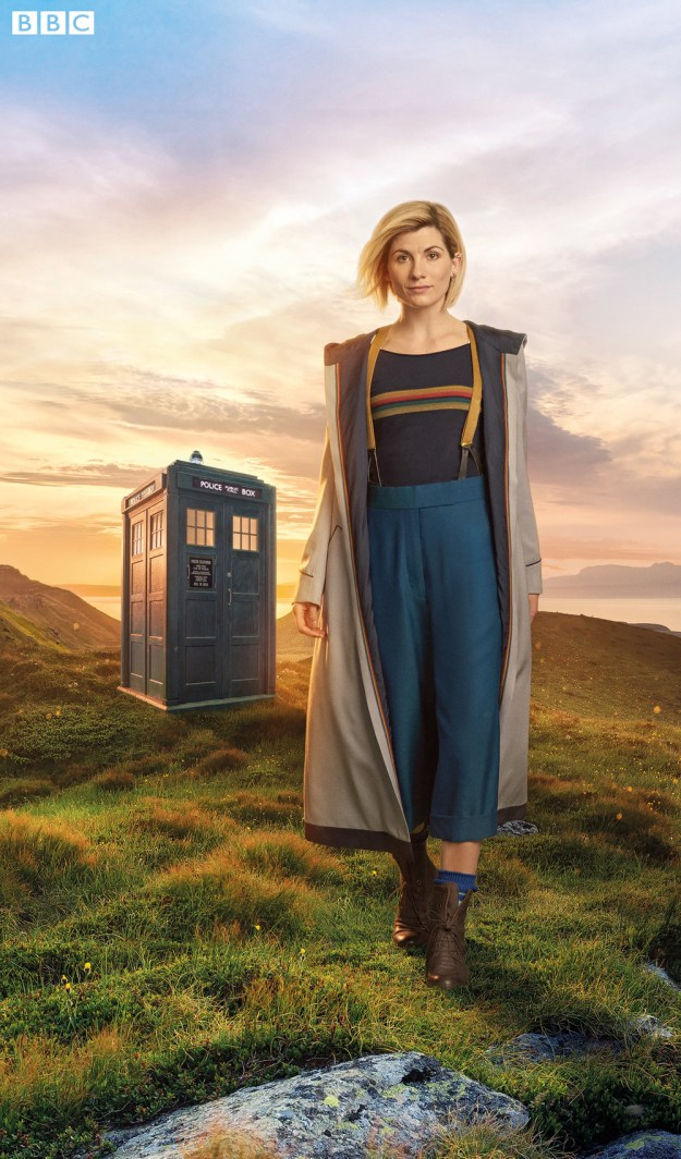 But now we've got our first official look at the Thirteenth Doctor and MY GOD, is it A Look™.